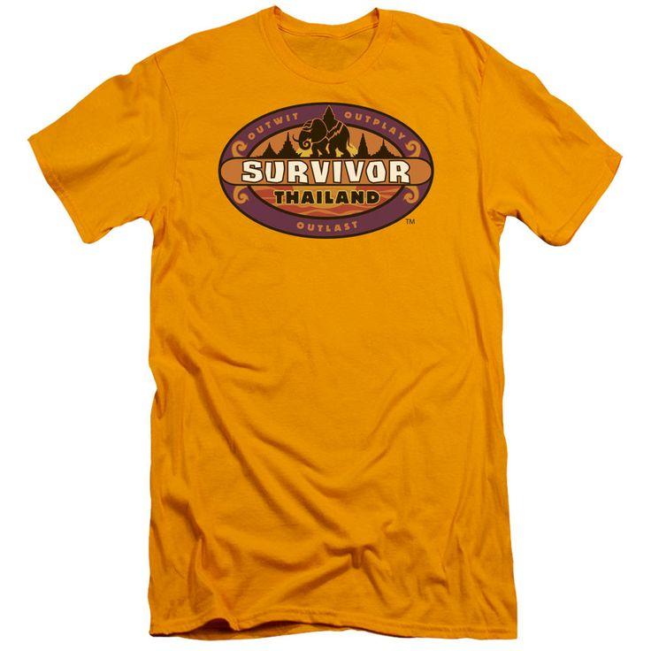 Survivor Thailand Gold Fine Jersey T-Shirt