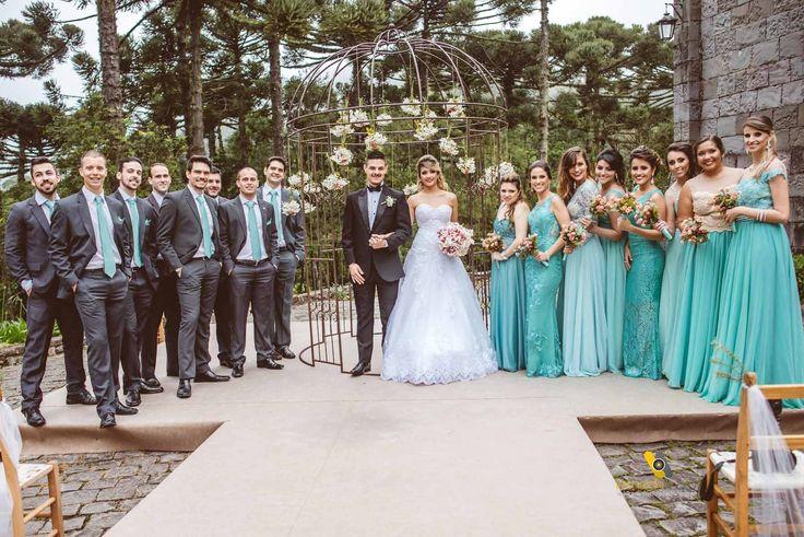 Casamento Rosa e Azul Tiffany | http://blogdamariafernanda.com/casamento-rosa-e-azul-tiffany