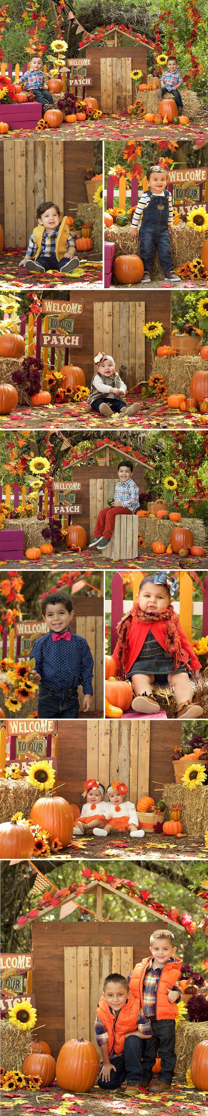 Halloween Photography - Fall Mini Session, Fall, Mini Session, Ideas, Fall Mini Session Set, Pumpkins,