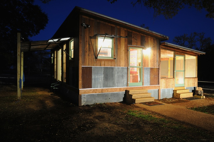 Reclaimed space is based out of austin texas and makes for Prefab homes austin