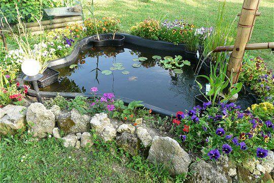 Jardin d 39 eau ou mare hors sol ou dans la continuit de for Bassin jardin hors sol