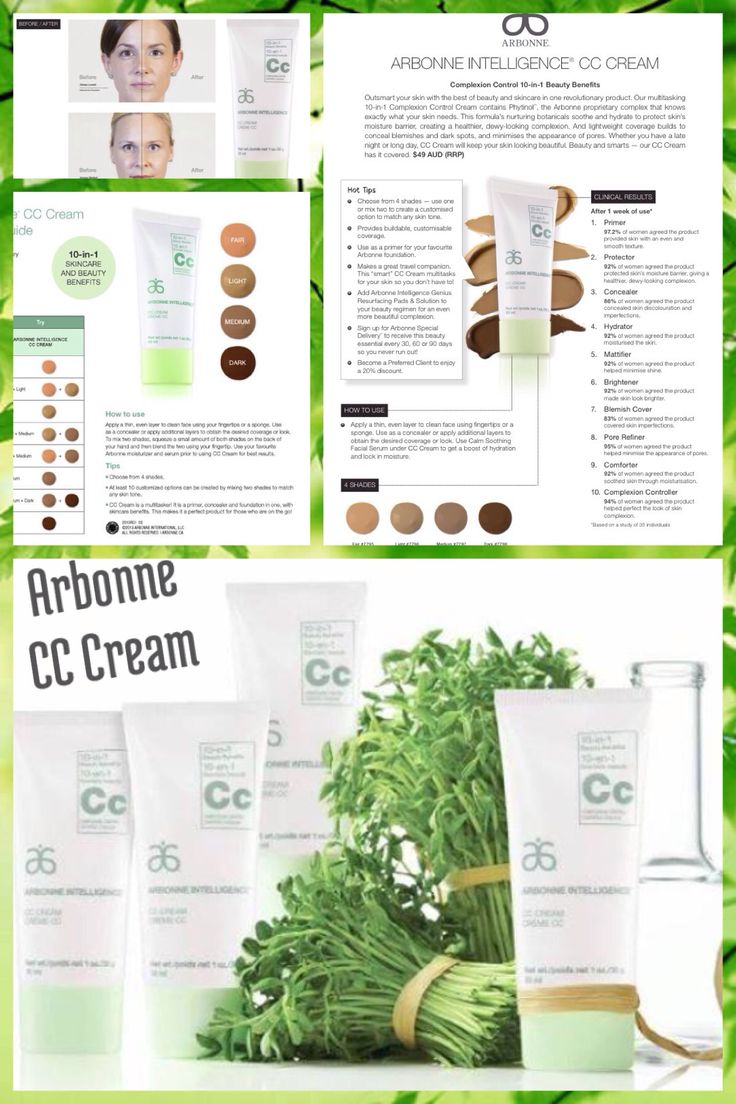 Arbonne CC Cream... 10-in-1 multitasking formula! With a built in Primer, Concealer & Foundation... It's a beauty must have for busy women! For orders & more Information use consultant ID 441249698