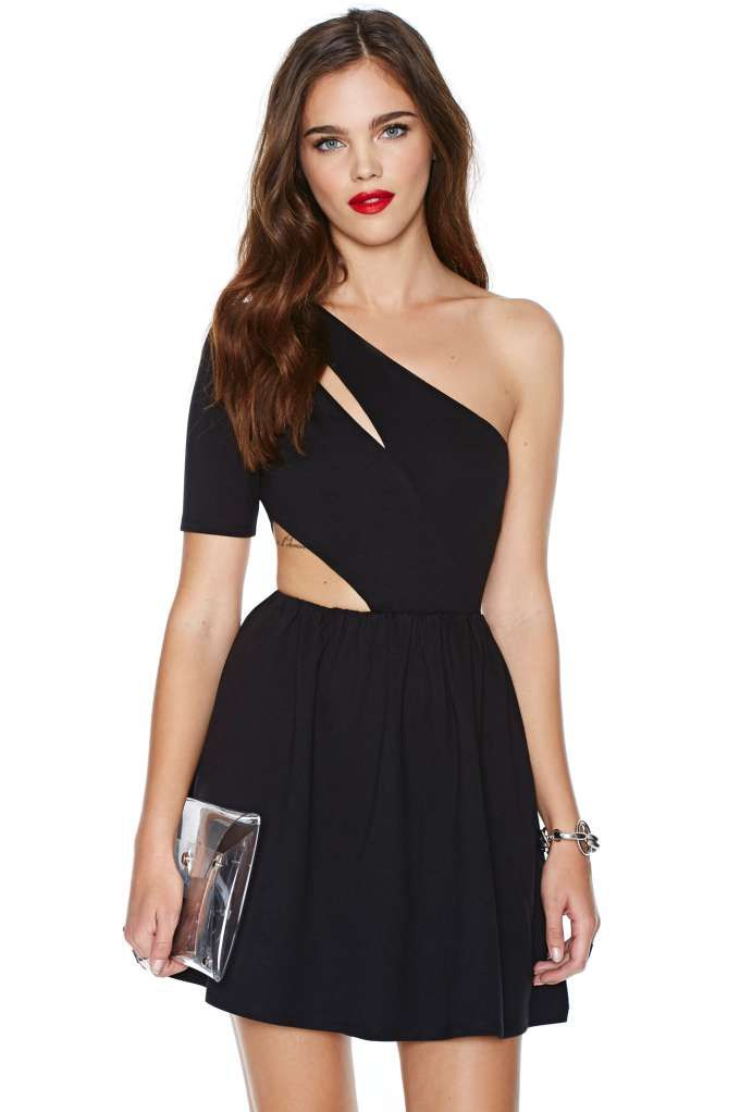 Nasty Gal Side Out Dress