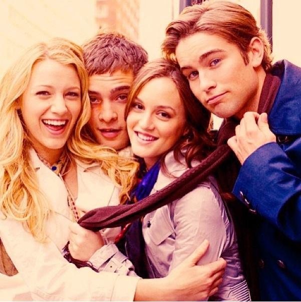 Blair, Serena, Nate, Chuck | Gossip Girl Obsessed xoxo ...