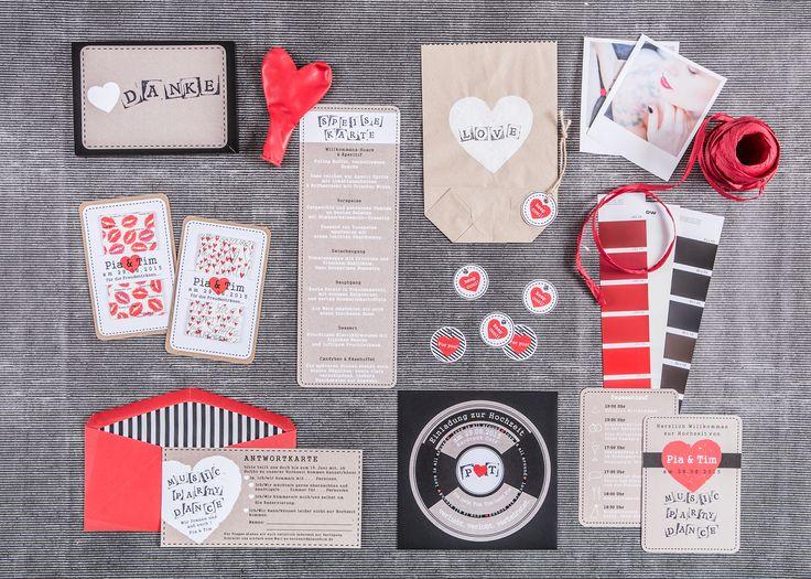 Hochzeitspapeterie Von Farbgold Aus München: Hier Seht Ihr Die Schönsten  Designs Aus Der Kollektion   Von Retro Bis Boho!