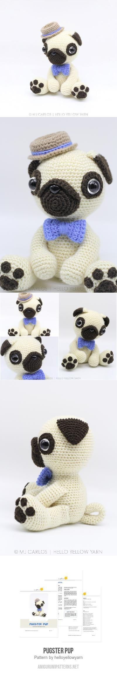 Pugster Pup Amigurumi Pattern