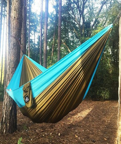 The outdoors is yours! Live the hammock life! #hammock #hammocklife #camping #hiking #travel #wander #wanderlust #explore #outdoors #adventure #mountains