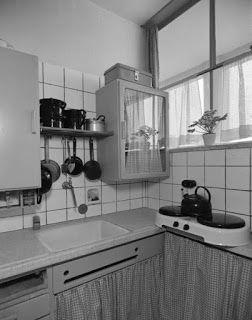 Binnenkant : Ouderwetse keukens!