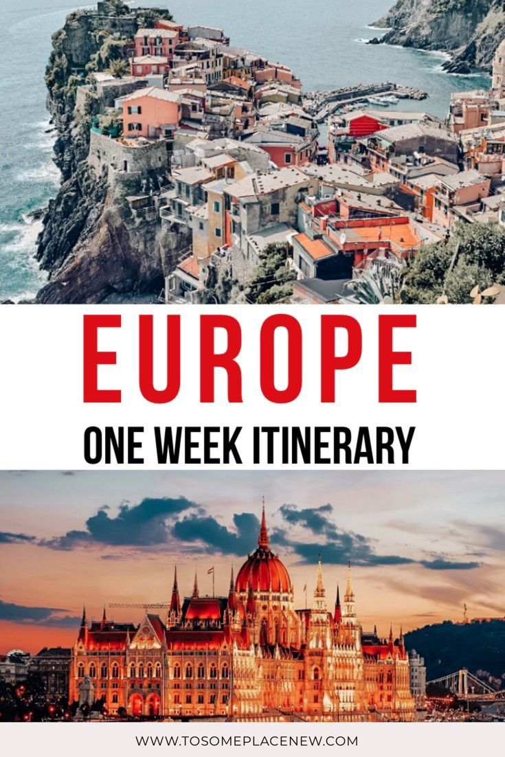 27 One Week In Europe Trip Itinerary Ideas To Spark Your Wanderlust In 2020 Europe Trip Itinerary Europe Travel Travel Itinerary