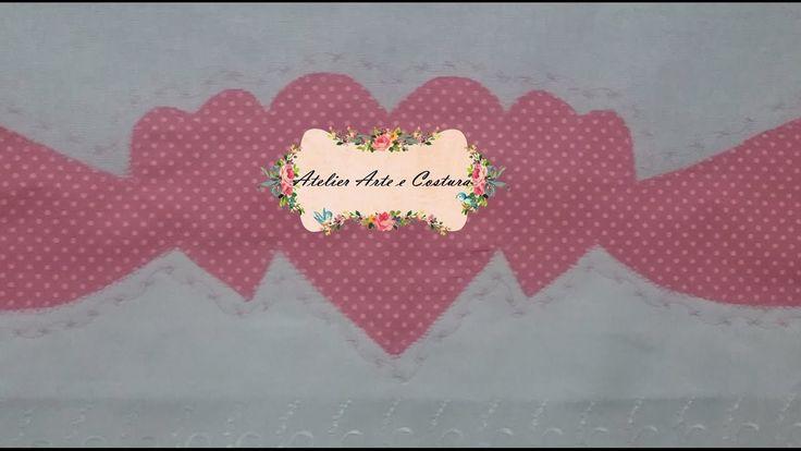 Barrado de coração 3#EuqueroAtelierArteeCostura