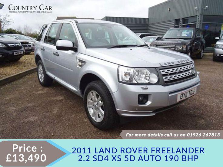 £13,490   #2011 11 #LAND ROVER FREELANDER 2.2 SD4 XS 5d AUTO 19 #used land rover cars #land rover used cars #find used cars - www.countrycar.co.uk 01926 267813 / 07441 906677