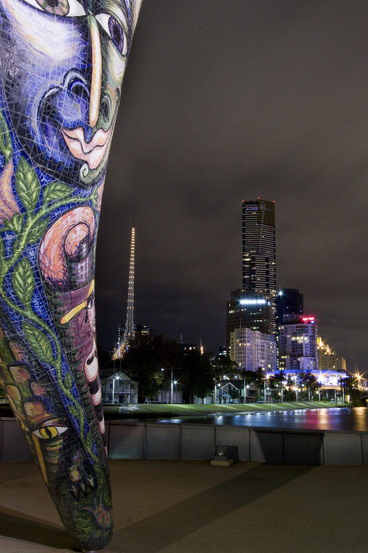 Melbourne arts district