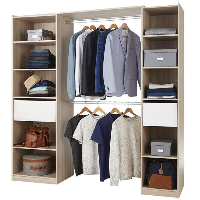 amnagement dressing castorama gallery of brico depot caisson dressing avec amenagement dressing. Black Bedroom Furniture Sets. Home Design Ideas