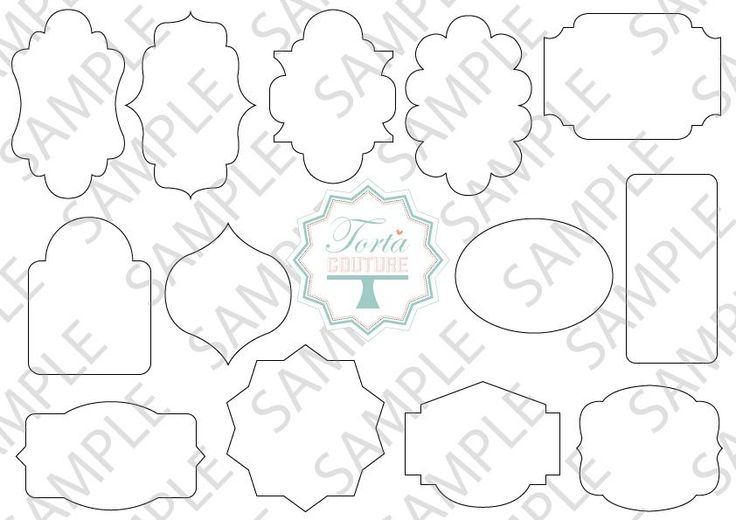 plaque template for cake - Google Search