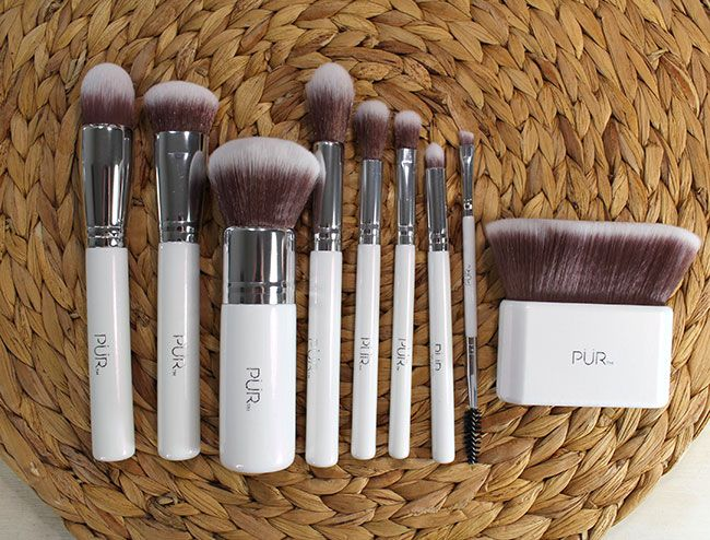 Vegan Makeup Brushes from PUR Minerals | My Beauty Bunny