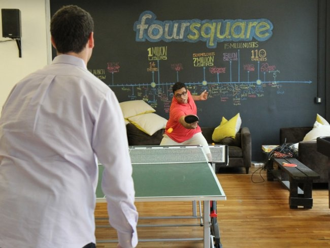 Inside Foursquare's Offices