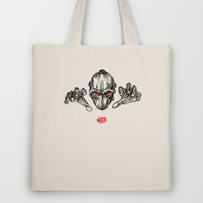 I Want Your Soul Tote Bag by WASA3I - $18.00