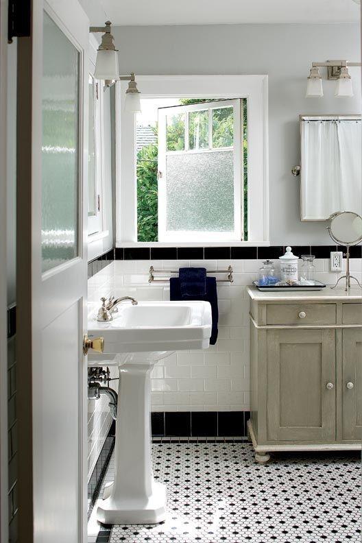 Bathroom From A Colonial 1915. Retro BathroomsBathrooms DecorBathroom ...