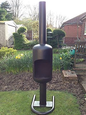 Wood Burner Bottle Garden And Logs On Pinterest