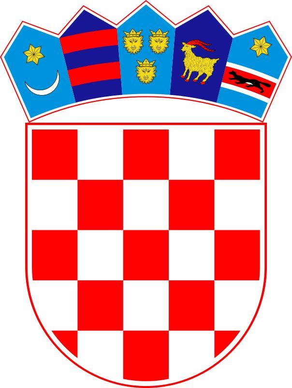 1991, Croacia, Capital: Zagreb, Ext 56594 Km2 #Croacia #Zagreb (L2388)
