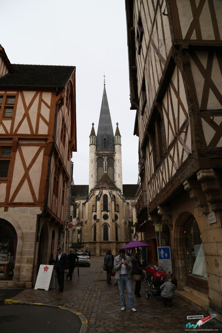 Dijon, France.   A Roadtrip through the Swiss Alps from Paris to Italy --> http://www.confiscatedtoothpaste.com/a-roadtrip-through-the-swiss-alps-from-paris-to-italy/