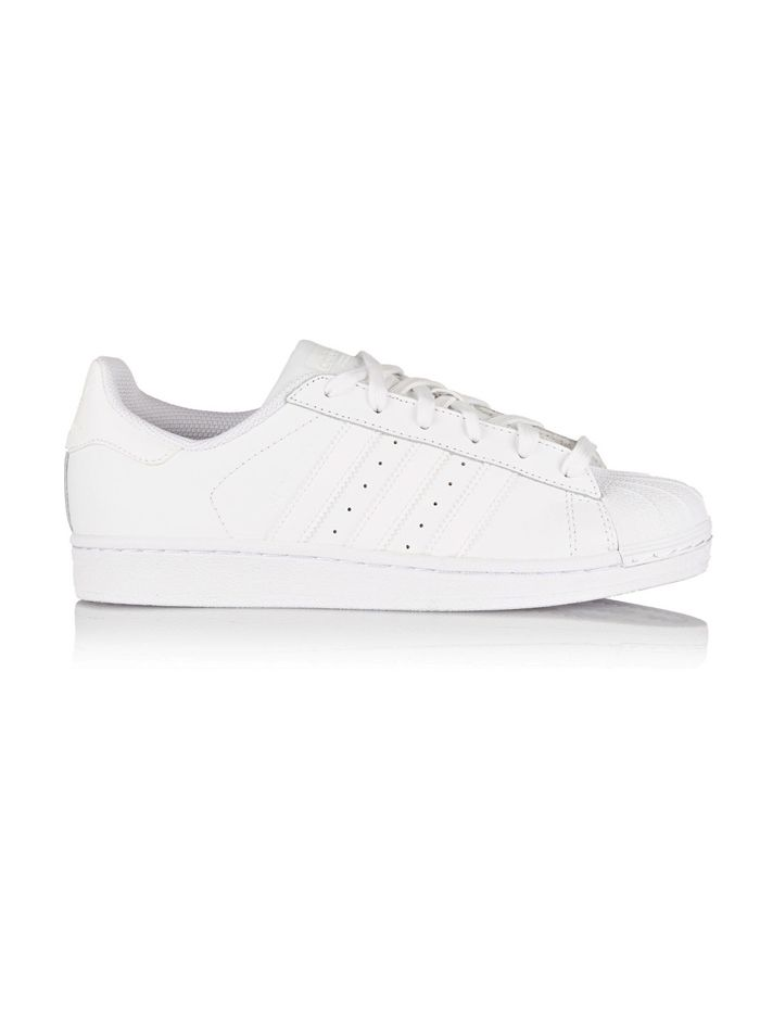 Adidas Originals Superstar Leather Sneakers in White