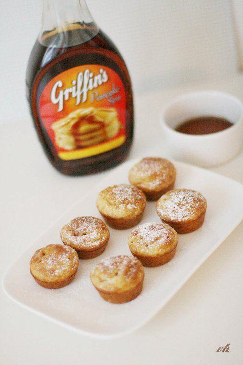 Heute erlöst Virginia die geliebten Frühstücksmacher mit phantastischen Pancake-Cupcakes   Ohhh… Mhhh…