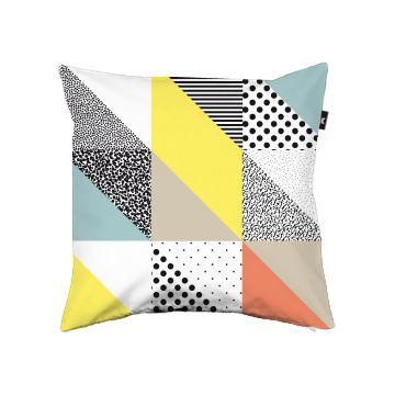 Triangles pillow cover. Synes det er nogle lækre farver