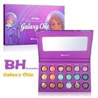 1PC / Lot NUEVO maquillaje BH Cosmetics galaxia Chic de 18 colores al horno Paleta Sombra de Ojos