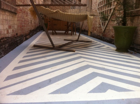 14 Best Stenciled Concrete Patio Floors Images On