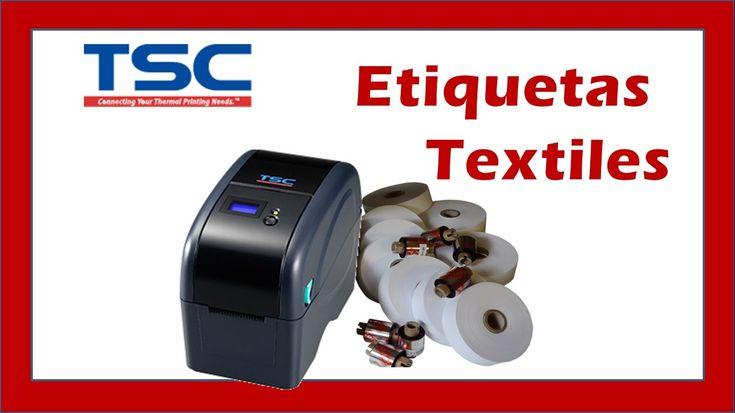 Impresora Textil para Etiquetas; Para Coser, Tejidas, Bordadas y Ropa