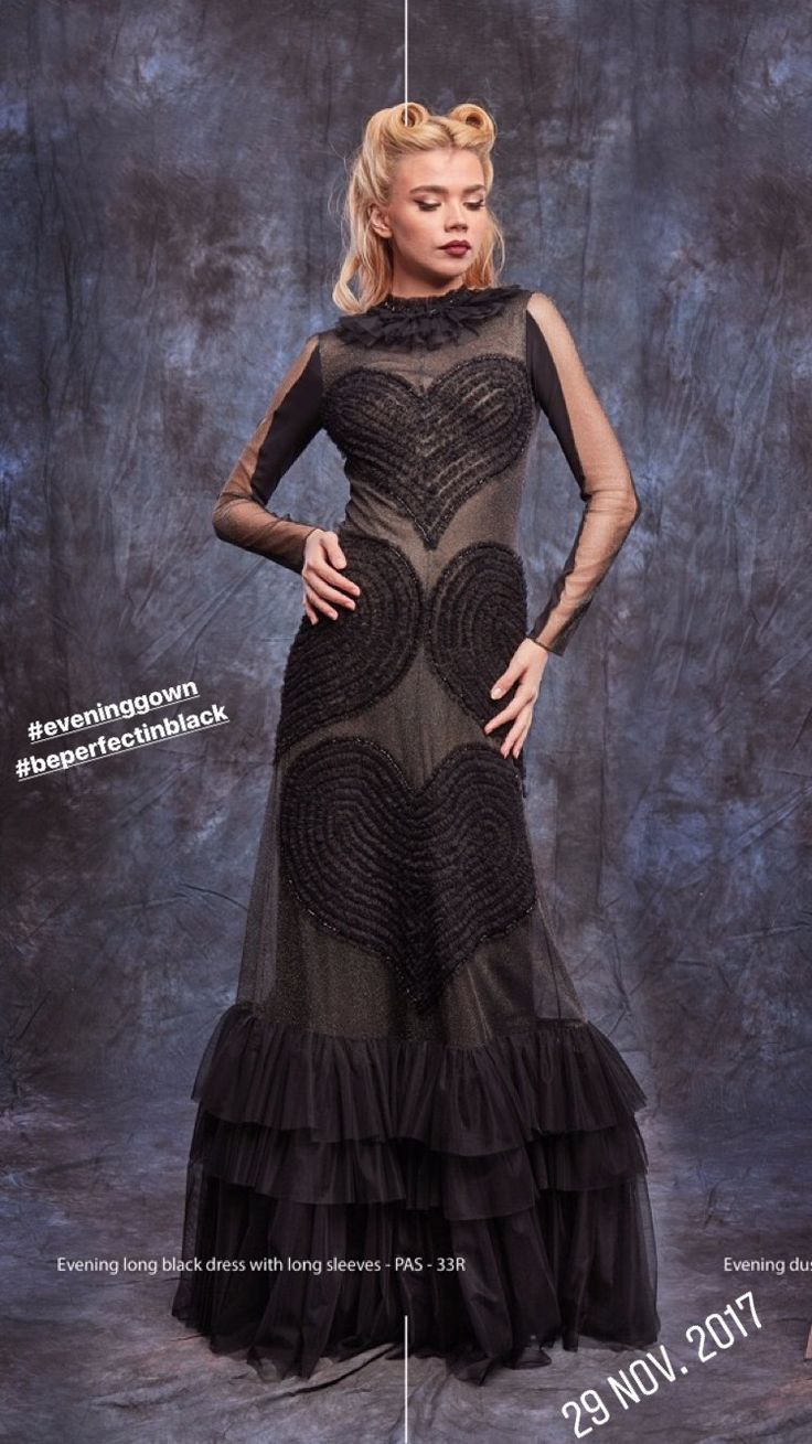 #long #eveningdress #handmade #details #eveninggown #gown #fashion #collection #atelier #passionbyd #2017 #2018
