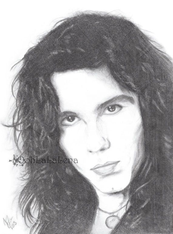Mark Slaughter of Slaughter Band Rock Star Pencil by OohLaLaLena, $18.00