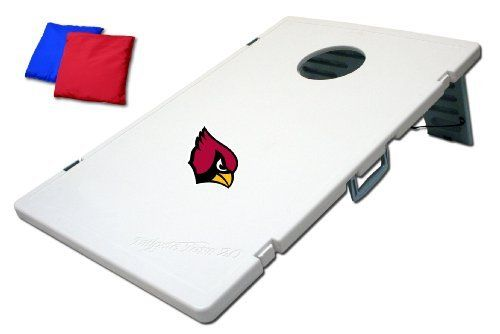 NFL Arizona Cardinals 2.0 Tailgate Toss Game by Wild Sales. $83.92. Lightweight and sturdy, it's a must have for the person on the go.. Each game includes: instructions, 8 bean bags (2 sets of 4), and 2 plastic boards that secure and lock together.. Included with the game is an individual storage compartment for each bean bag. When the tailgate party goes on the road we have included a nylon carrying bag.. Officially Licensed with NFL. Each game has a large s...