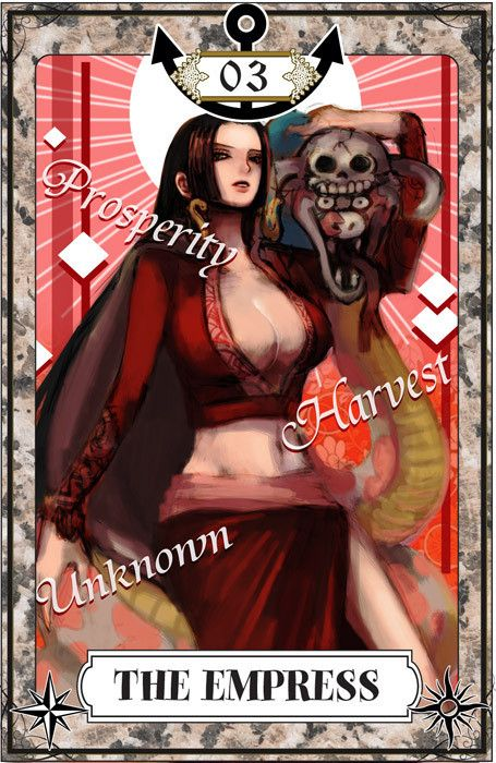 "☆ One Piece Tarot Card Art: The Empress :¦: By Artist ""Igarashi"" ☆"