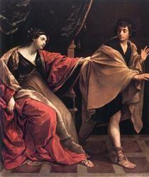Giuseppe e la moglie di Putifarre - Guido Reni
