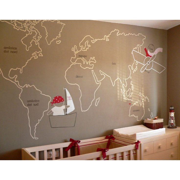 M s de 25 ideas incre bles sobre murales pintados en - Murales pintados a mano ...