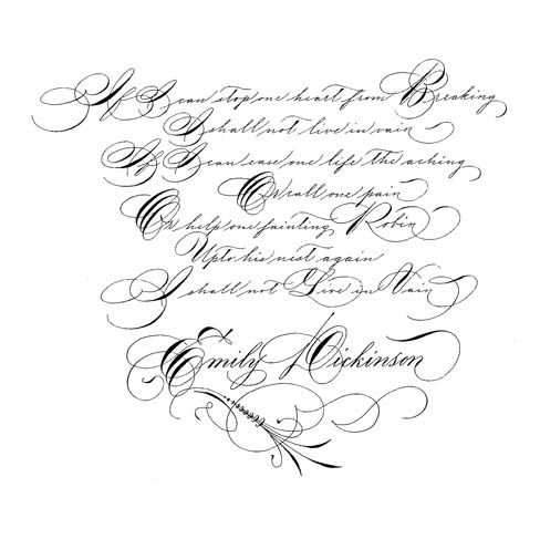 1000 Images About Spencerian On Pinterest Calligraphy