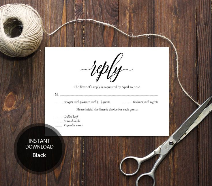 INSTANT DOWNLOAD Pdf Template 3,5x5 RSVP Card Wedding Rsvp postcards Calligraphy Editable wedding Reply Card Printable Digital #DP110_25 by DreamPrintable on Etsy #wedding #instant #download #printable #image #graphic #digital #reception_sign #PDF #Template #wedding_ceremony #wedding_sign #Calligraphy #Sign #events #events_design #wedding_printable #wedding_design