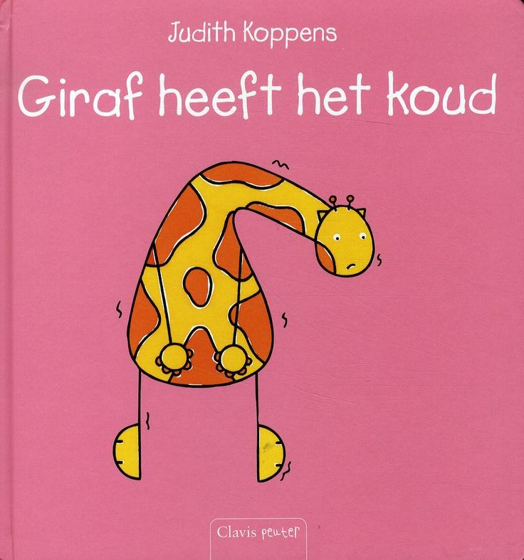 giraf heeft het koud, simpel maar mooi verhaal over vrienden