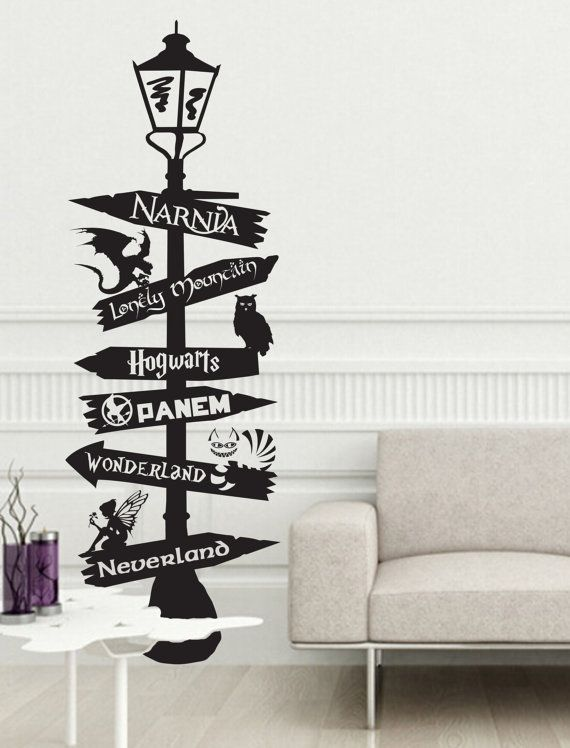 Sign Post inspired by Harry Potter Hogwarts Narnia par JobstCo