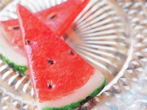 おゆまるでスイーツデコ ストライプキャンディ How to make Stripe Candy with OYUMARU - YouTube