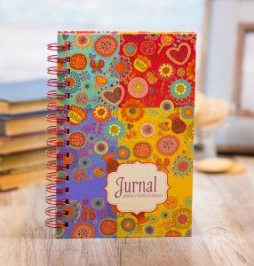 Colorful journal for a beautiful heart!