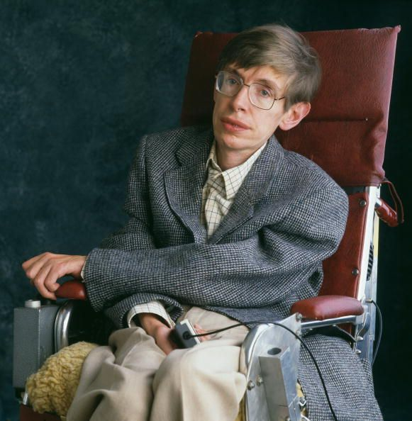 British theoretical physicist Stephen Hawking, Cambridge, January...