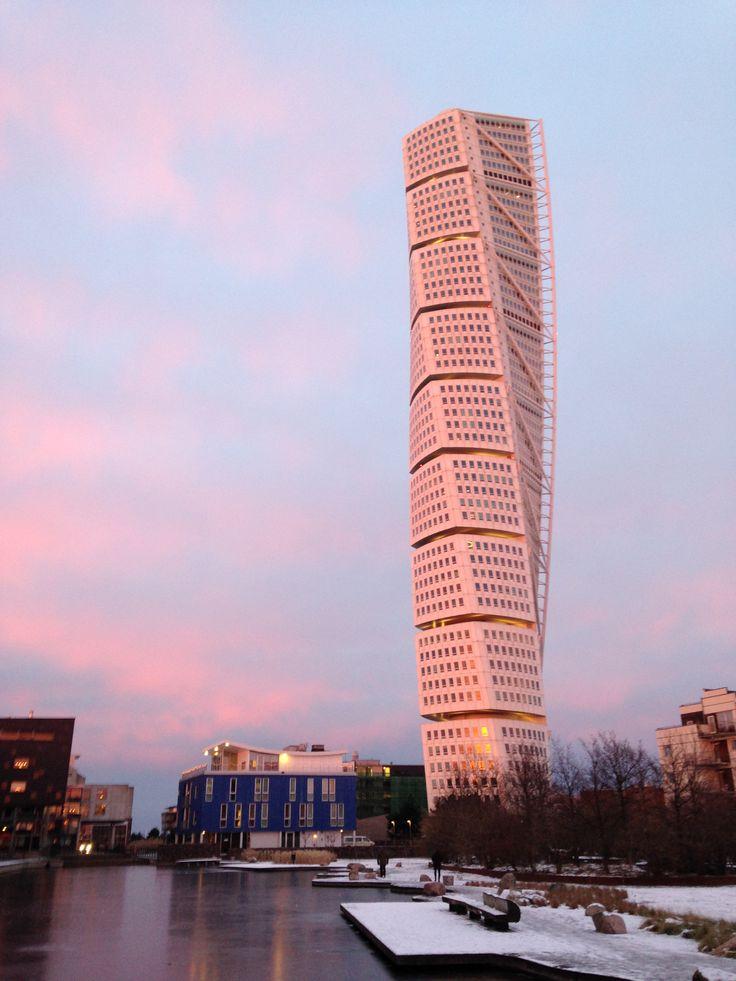#Malmö #sunset #colorfulsky