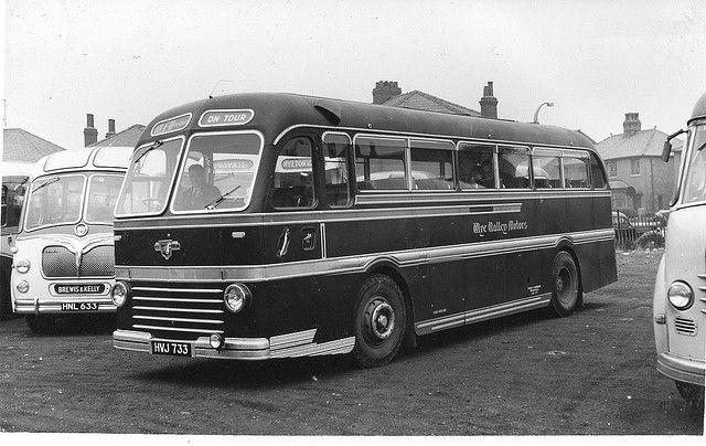 Leyland/Duple Roadmaster - Wye Valley Motors