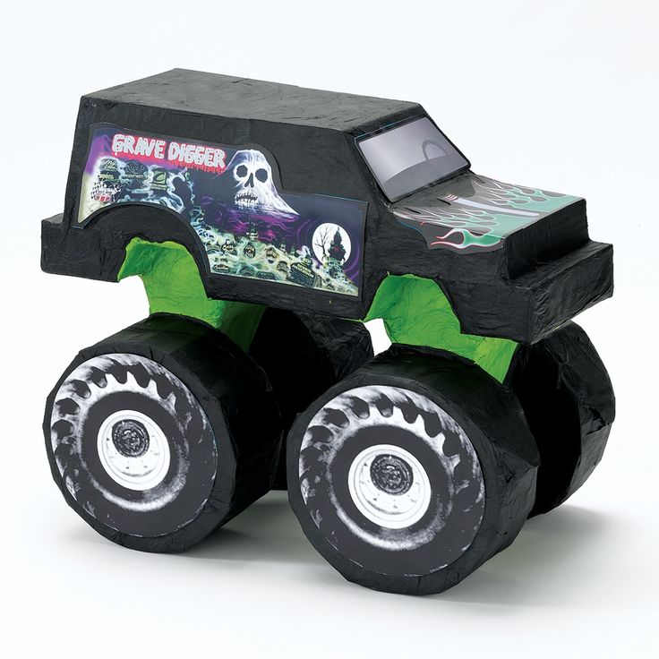 "Gravedigger Pinata! Just need to see if I can have it made bigger than 16""!"