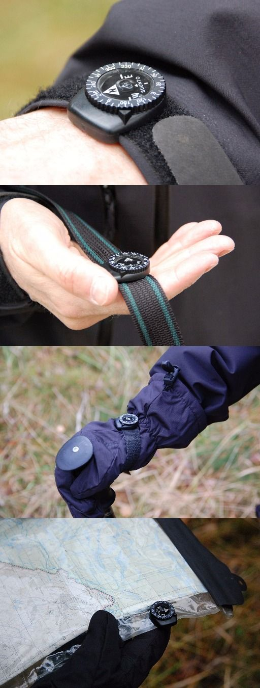 Suunto Clipper Watch Band Compass. Perfect everyday carry edc accessory - Everyday Carry Gear