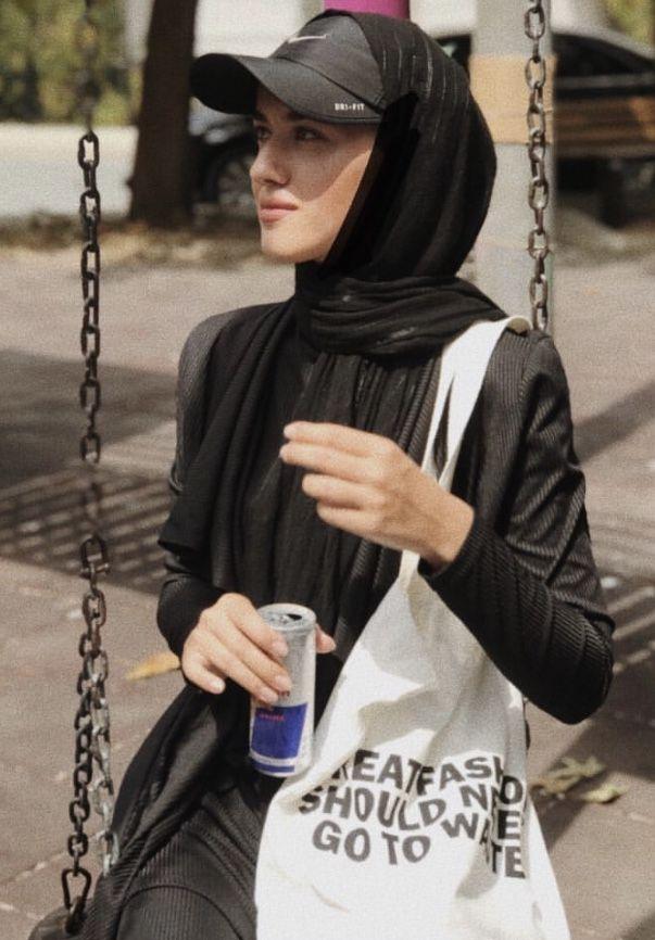 Pin Oleh An Nur Omar Di H I J A B Gaya Hijab Pakaian Swag Gaya
