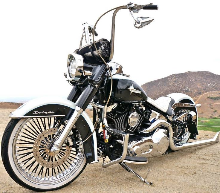 Buy California Gangster Softail Deluxe 21 Wheel Air Ride on 2040-motos